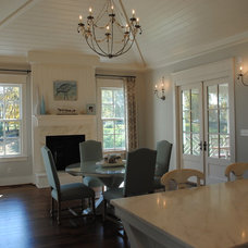 Farmhouse Dining Room by Stacye Love Construction & Design, LLC