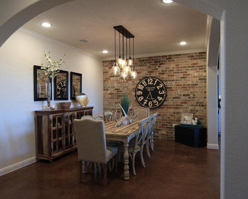 Sala da pranzo classica con camino ad angolo foto idee arredamento - Pareti sala da pranzo ...
