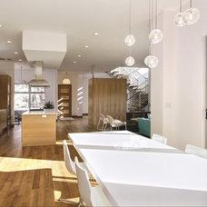 Modern Dining Room by modmood, llc