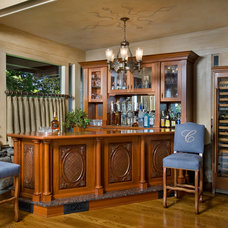Traditional Dining Room by David Sloane Photography