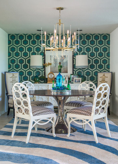 Contemporary Dining Room by Grace Home Furnishings