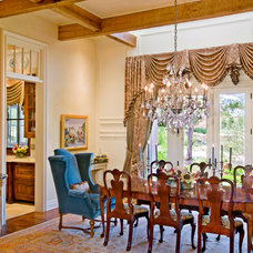 Traditional Dining Room by Bravo Interior Design