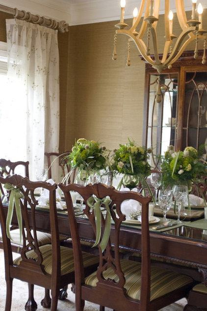 Traditional Dining Room by StarrMiller Interior Design, Inc.
