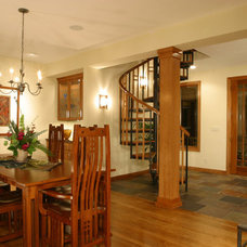 Eclectic Dining Room by Landsted Companies, LLC