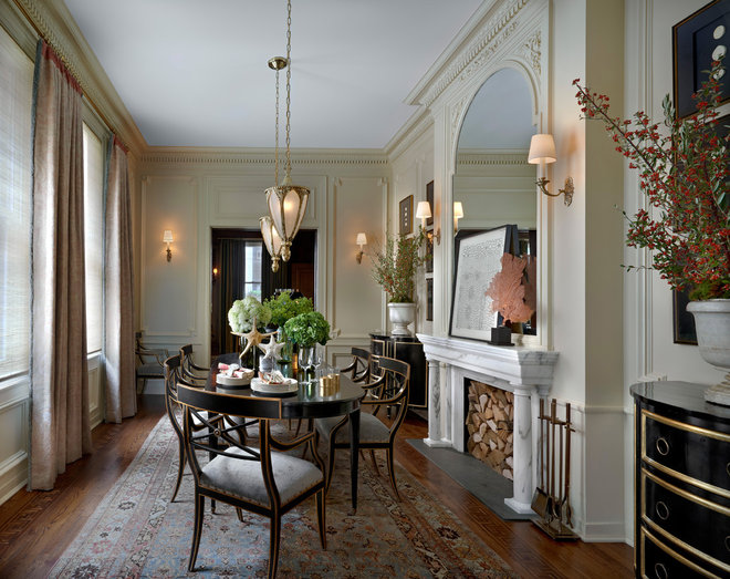 Victorian Dining Room by Jessica Lagrange Interiors