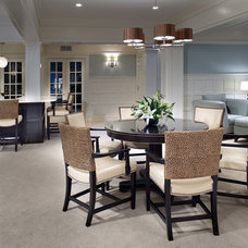 Traditional Dining Room by Diane Burgoyne Interiors