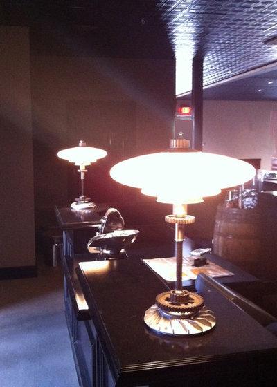 Dining Room by Omega Lighting & Design