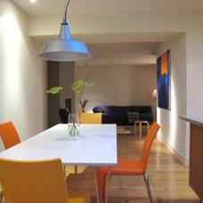 Contemporary Dining Room by Steeldaisy Associates