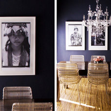 Modern Dining Room by 4 CORNERS: International Design Concepts, llc