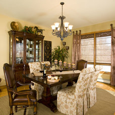 Traditional Dining Room by Decorating Den Interiors - Susan Keefe, C.I.D.