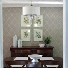 traditional dining room by Heather Freeman Design Co.