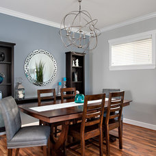 Contemporary Dining Room by The Spotted Frog Designs