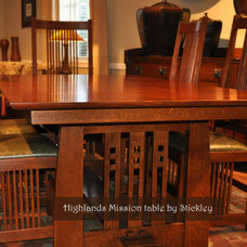 Craftsman Dining Room by Traditions Home