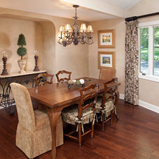 Traditional Dining Room by Ispiri Design-Build