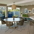 Residential Lighting Modern Dining Room Orange