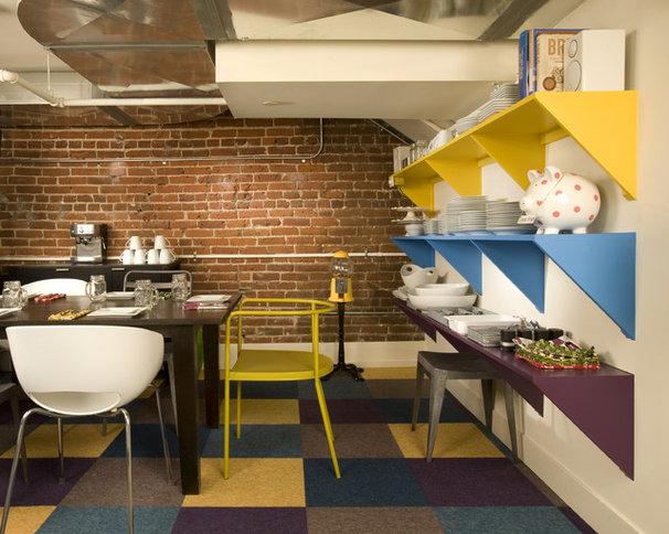Industrial Dining Room by Momoko Morton