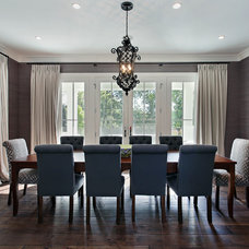 Traditional Dining Room by Highgate Builders