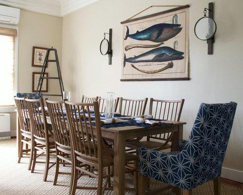 Nautical Dining Room Houzz