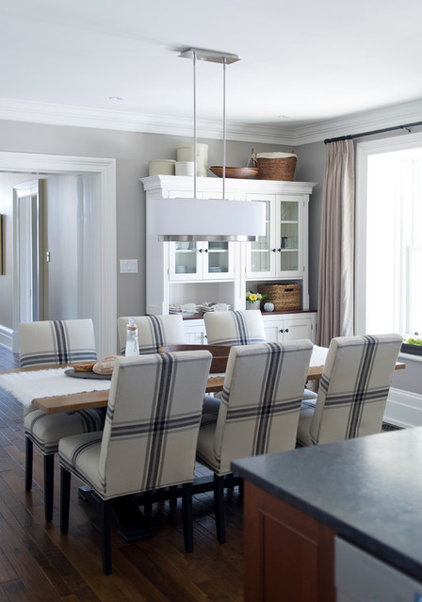 Farmhouse Dining Room by LemonTree & Co. Interiors