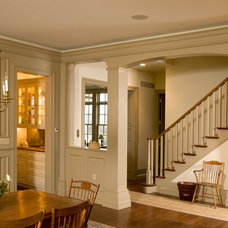 Traditional Dining Room by Worthington Custom Builder Inc.