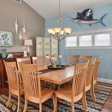Beach Style Dining Room by Annie M Design