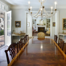 Traditional Dining Room by Norris Architecture