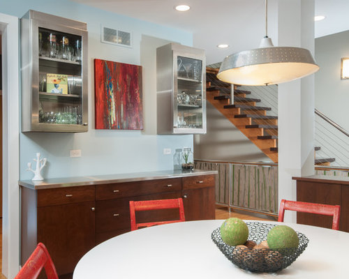 red kitchen chairs | houzz