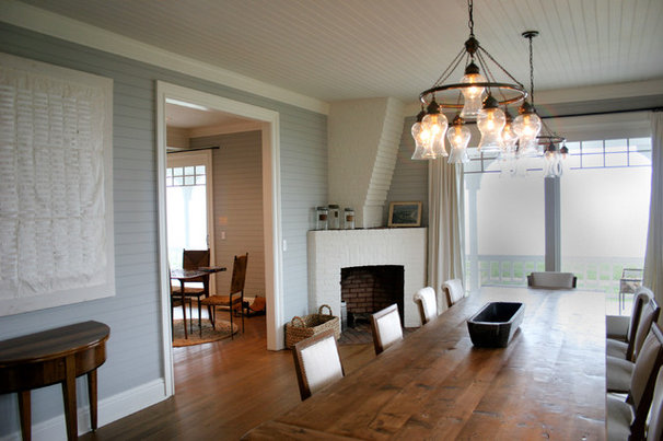 Traditional Dining Room by Celebration Contracting