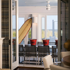 Beach Style Dining Room by Penza Bailey Architects