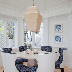 contemporary dining room by GEORGE Interior Design