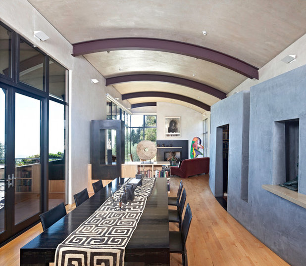 Modern Dining Room by WA Design Architects