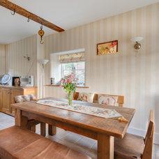 Farmhouse Dining Room by Colin Cadle Photography