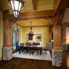 Traditional Dining Room by Authentic Pine Floors, Inc.
