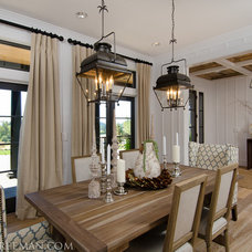 Traditional Dining Room by JPID Construction & Design LLC