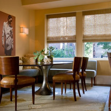 Eclectic Dining Room by Kaufman Segal Design