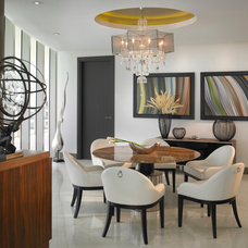 Contemporary Dining Room by HA Style for Living