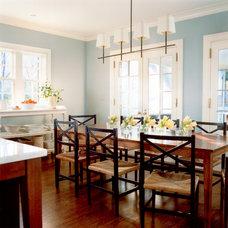 Farmhouse Dining Room by Jones & Boer Architects, Inc.