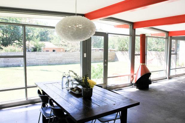 Luxury Midcentury Dining Room Studio