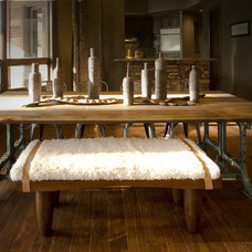 Rustic Dining Room by Studio D - Danielle Wallinger