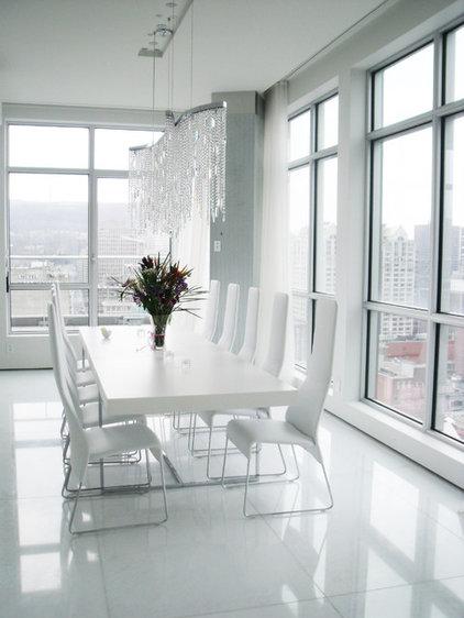 Contemporary Dining Room by Studio NOO Design