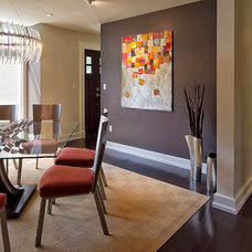 Contemporary Dining Room by Knight Architects LLC