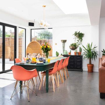 Stunning kitchen extension in SE London.