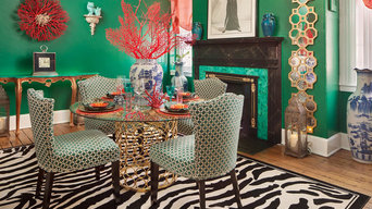 Stunning Malachite Dining Room