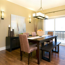 Traditional Dining Room by Sabal Homes