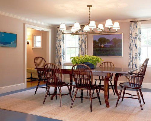 Casual dining rooms houzz for Casual dining room lighting ideas