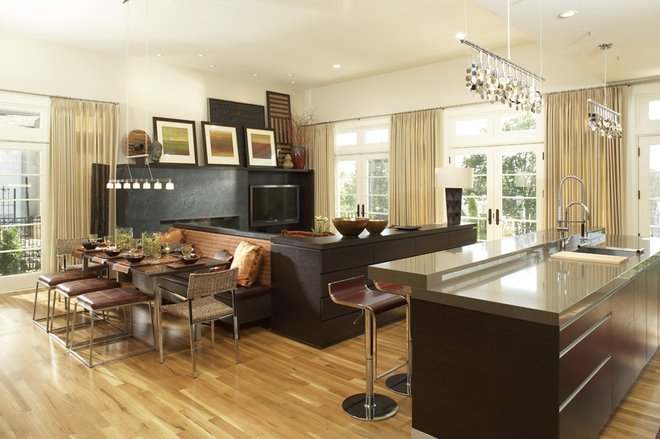 Modern Dining Room by KSID Studio, LLC