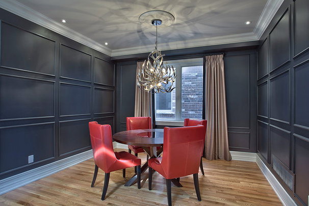 Contemporary Dining Room by Darlene E Shaw Interior Concepts
