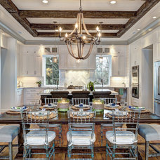 Beach Style Dining Room by Ink Architecture + Interiors