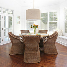Beach Style Dining Room by Diament Builders