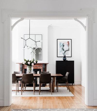 Contemporary Dining Room by Tonka Andjelkovic Design
